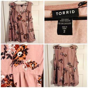Torrid size 2X  women's blouse